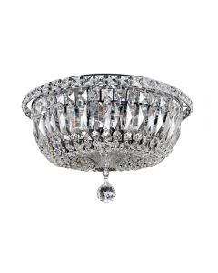 Allegri 020244-010-FR001 Betti 6 Light Flush Mount
