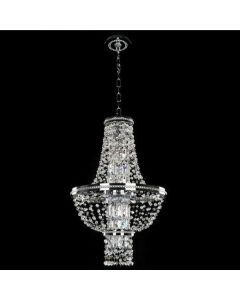 Allegri 020370-010-FR001 Capri 4 Light 18 Inch Round Pendant