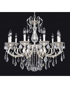 Allegri 022151-017-FR001 Rafael 10 Light Chandelier
