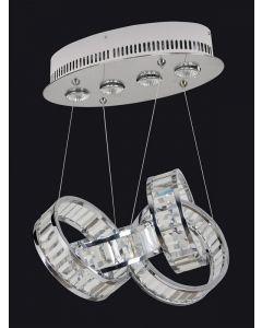 Allegri 022950-010-FR001 Anastagio 4 Light Round Pendant