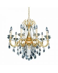 Allegri 025452-011 Barret 10 Light Chandelier