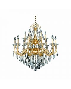 Allegri 025453-011 Barret 18 Light Chandelier