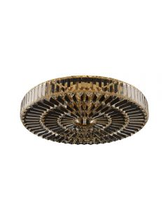 Allegri 025742 Julien 6 Light 22 Inch Flush Mount