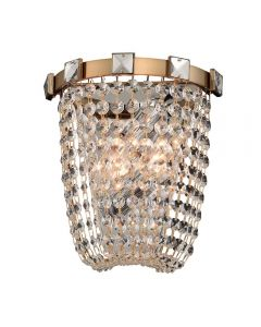Allegri 027920-038-FR001 Impero 2 Light Wall Sconce