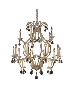 Allegri 029652-038-FR001 Duchess 15 Light 2 Tier Chandelier