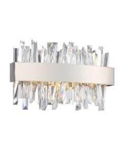 Allegri 030230-010 Glacier Bathroom Lighting