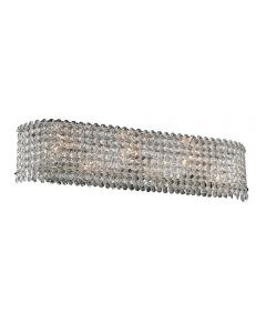 Allegri 032031-010-FR001 Torre 6 Light Bathroom Light
