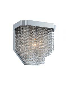 Allegri 036020-010-FR001 Tenda 1 Light Wall Sconce