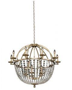 Allegri 037772-038-FR001 Pendolo 15 Light Chandelier