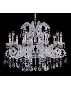 Allegri 10068-010-FR000 Lorraine 10 Light Chandelier