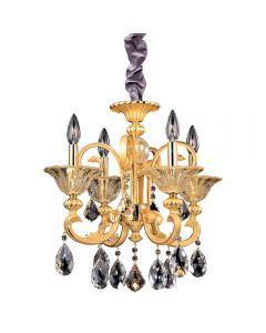 Allegri 10457 Legrenzi 4 Light Chandelier