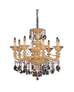 Allegri 10498-016-FR000 Mendelssohn 8 Light Chandelier
