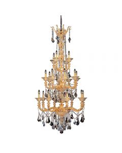 Allegri 11096-016-FR000 Mendelssohn 20 Light Chandelier