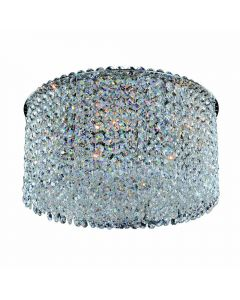 Allegri 11664-010-FR001 Milieu Metro 5 Light Flush Mount