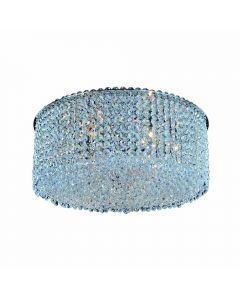 Allegri 11665-010-FR001 Milieu Metro 8 Light Flush Mount