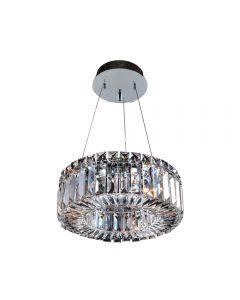 Allegri 11702-010-FR001 Rondelle 3 Light 12 Inch Round Pendant