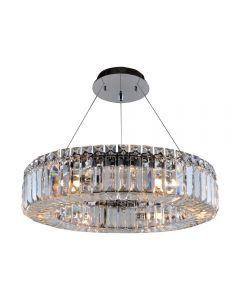 Allegri 11703-010-FR001 Rondelle 6 Light 18 Inch Round Pendant