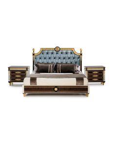 Mariner 4117 Wellington Walnut 4 Piece Bedroom Set