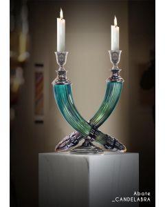 Baldi Home Jewels 696920PO169LRUV Boccadoro Abate Candlestick