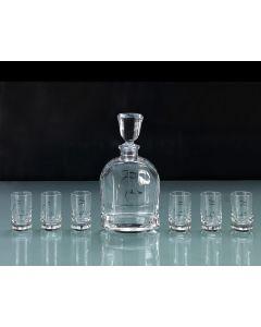 Tonino Lamborghini Casa TLC031 Crystal Vodka Glass