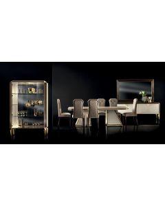 Adora Interiors ADO3034 Diamante Rectangle Dining Table Fixed Top