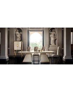 Adora ADO3033 Diamante Dining Table With Extension