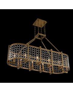 Allegri 032161-043-FR001 Verona 10 Light Island Light
