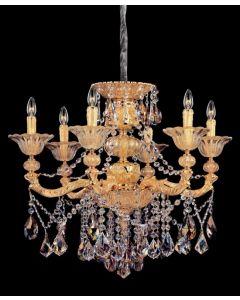Allegri 10497-016-FR000 Mendelssohn 6 Light Chandelier