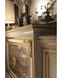 Arredoclassic ARR3540 Leonardo 4 Door Buffet With Glass Door