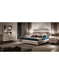 Adora Interiors ADO4685 Ambra King Size Wooden Bed