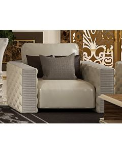 Asnaghi Interiors AID003001 Pure Opale Modern Sofa
