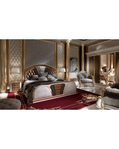 Asnaghi Interiors AID03201 Pure Blenda Modern Bed