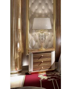 Asnaghi Interiors AID03203 Pure Blenda Modern Night Table