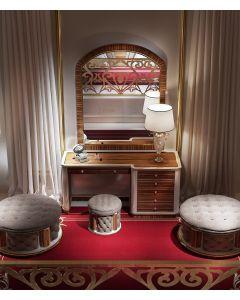 Asnaghi Interiors AID03205 Pure Blenda Modern Dresser Mirror