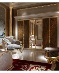 Asnaghi Interiors AID03210 Pure Blenda Classic Sofa Arm Chair