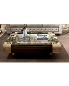 Asnaghi Interiors AID03404 Pure Smeraldo Modern Center Table
