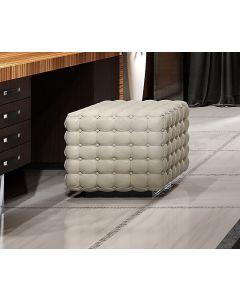 Asnaghi Interiors AID03506 Pure Corallo Modern Pouf