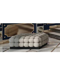 Asnaghi Interiors AID04007 Pure Quarzo Modern Big Pouf