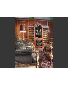 Asnaghi Interiors IT1306 Taormina Vetrine For Wine