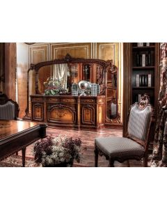 Asnaghi Interiors IT1702 Ferrara Dining Chair