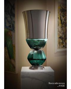 Baldi Home Jewels 656910PO169LRUV Boccadoro Boccabronzo Vase