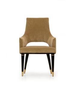 Formitalia Glamour FG3695 Dome High Back Dining Chair