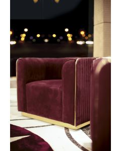 Formenti FOR4734 Zoe Accent Chair