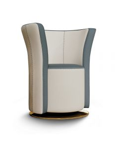 Formenti FOR6231 Flut Accent Chair With Swivel