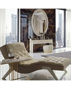 Formenti FOR6235 Metropol Chaise Leather Lounge