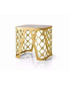 Formenti FOR2642 Modern Vogue Marble Side Table