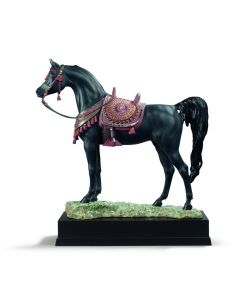 Lladro 1001919 Limited Edition Arabian Pure Breed Horse Sculpture