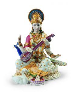 Lladro 1001978 Limited Edition Saraswati Sculpture