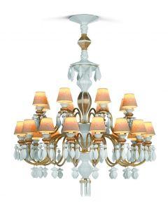 Lladro Lighting 1023315 Belle De Nuit 24 Light Chandelier