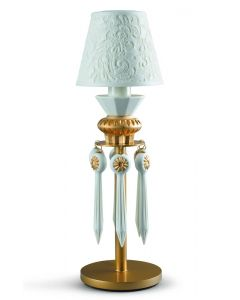 Lladro Lighting 1023326 Belle De Nuit 1 Light Table Lamp